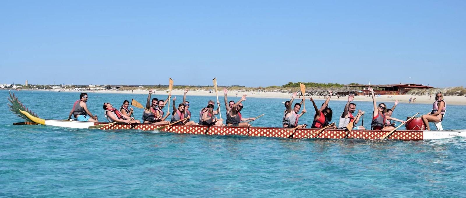 Revevol Team on a Boat in Italy